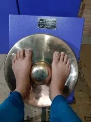 Kansa Thali Foot Massage Machine