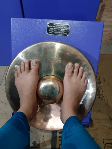 Foot Massagers Kansa Thali Foot Massage Machine Wholesale Trader From Pune