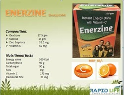 Drams Enerzine Energy Drink, 105gm