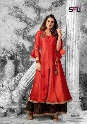 Ladies Designer Long Gown Kurti