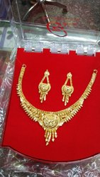 Gold Half Necklace 1 Gram