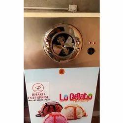 Semi Automatic Ice Cream Churner