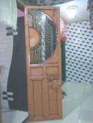 Wooden MS Grill Door