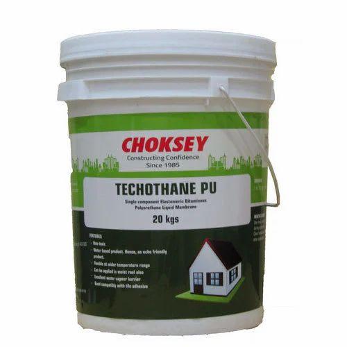 Choksey Techothane PU Waterproofing Chemical, Packaging: 20 kg, Rs ...