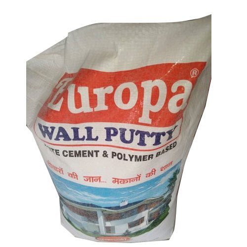Europa White Cement Polymer Based Wall Putty Packaging Size 20 Kg Rs 420 Bag Id 20679900697