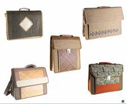 Designer Premium Jute Messenger Conference Bag