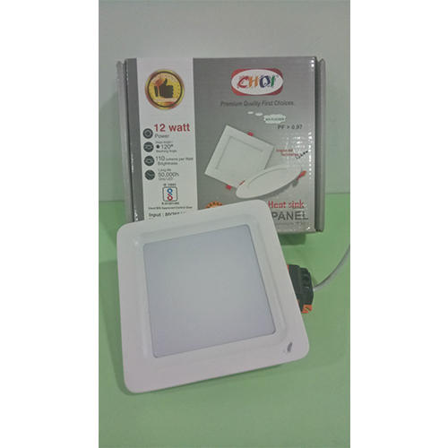 12W Heat Sink LED Panel Light