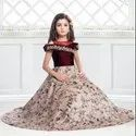 Designer Heavy Kids Wear Lehenga