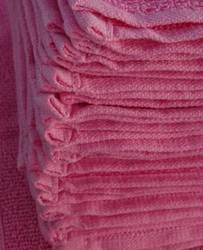 Pink Color Face Towel