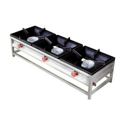 3 Burner Commercial Gas Stove Size 36128
