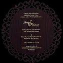 Customized Invitation Cards In Mdf Laser Cut