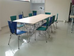 Crazymark Canteen Table, For Industrial, Seating Capacity: 8 - 10 People