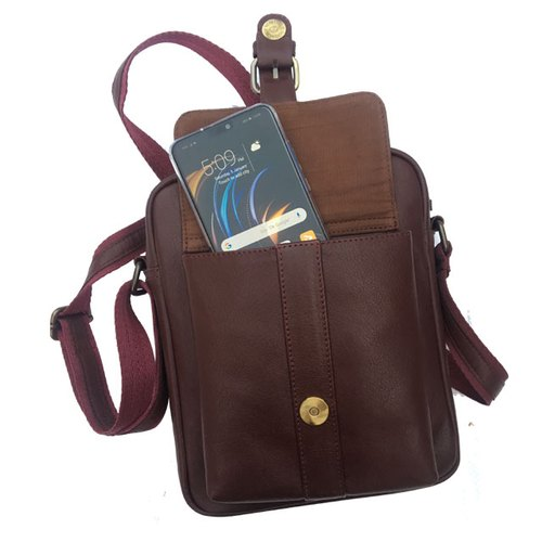 ad9a3d5b43997 Brown Shoulder Bag Ladies Leather Backpack Bag