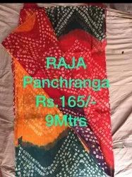 Multi Color Cotton Jodhpuri Pachrangi Bandhej Safa