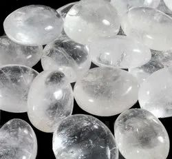 Transparent Quartz Pebbles
