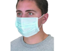 Blue Ear Loop Non Woven Fabric Disposable Mask
