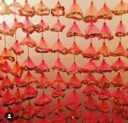 Wedding Backdrop Net Hanging Decoration Garlands