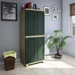 Brown Nilkamal FB1 Storage Cabinet or Plastic Cupboard for Home
