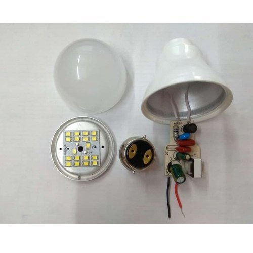 9 Watt Philips Type Hpf Led Bulb Raw Material Warranty 2 Year Only 26 Rs