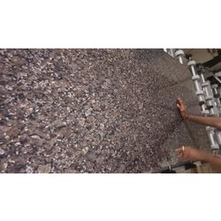 Polished Samdani Crystal Blue Granite Slab, Thickness: 15-20 mm