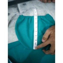 Green Cotton OT Disposable Surgical Caps