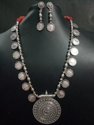 Ozanoo Anniversary and Engagement Long Coins Necklace Sets