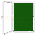 Push Up Pin Board With Acrylic Door