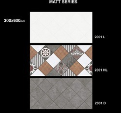 2001L Matt Ceramic Wall Tiles