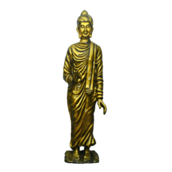 Metallic Color Buddha Statue