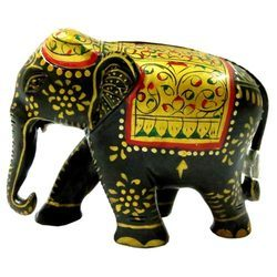 Wooden Embossed Elephant