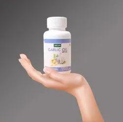 Seya Garlic Oil Softgel Capsule, Packaging Type: Bottle