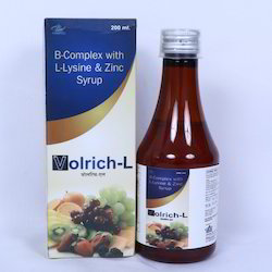 B-Complex, L-Lysine and Zinc Syrup (with monocarton)