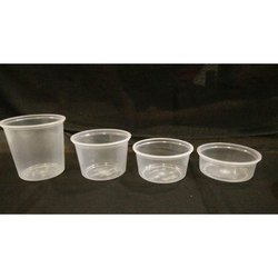 Round Transparent Plastic Food Container