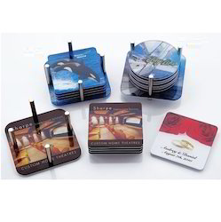 Acrylic Laminated Coasters