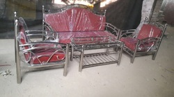 Stainless Steel Fancy Sofa Set