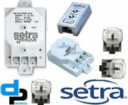Setra Model 265 Differential Pressure Transducer Range 0- 100 Inch