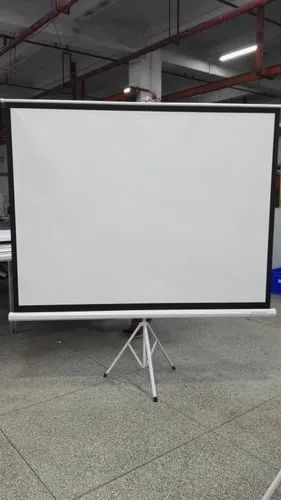 White Provue Tripod Screen 4 4 Screen Size 50 X70 Rs 3500 Piece Id 20957970391