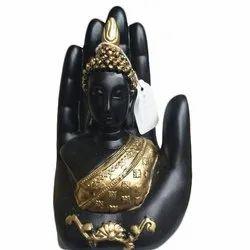 Brass Designer Buddha Statue