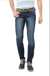 32 98% Cotton and 2% Spandex Peter England Blue Jeans JDN31704448