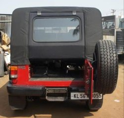 Jeep Metal Back Door