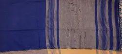 Handloom Saree BB /E050- BLUE