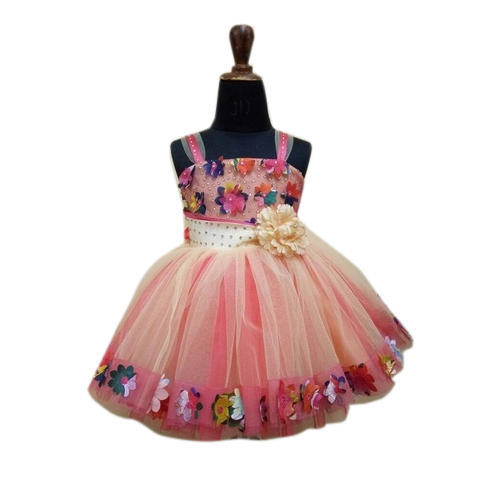 bf8610883 Party Wear Floral Print Kids Floral Frock
