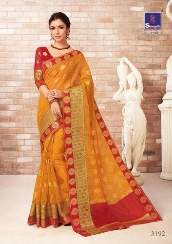 57ab1da171 Shangrila Pariniti Silk Saree, Rs 695 /piece, T J Texo Fab | ID ...