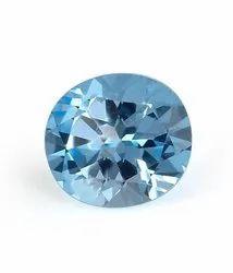 Blue Topaz Gemstone Stone For Unisex Gemstone