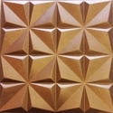 Brown Leather Wall Panel