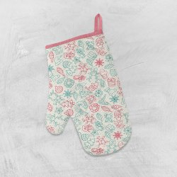 Cotton Oven Mittens