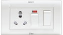 Press Fit - One 5-in-1 Switch Socket Combined