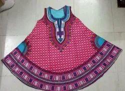 Rayon Umbrella African Print Sun Dress Fabric