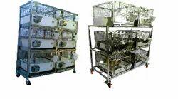 Vishnu Traders Rabbit Cage Racks