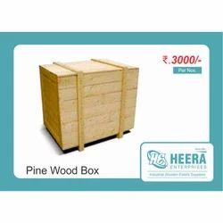 Pinewood Packaging Case
